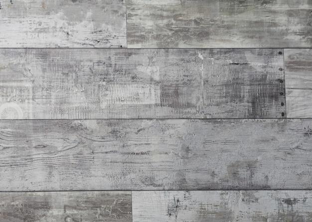 Surface En Bois Patiné Rustique Avec De Longues Planches Alignées Photo gratuit