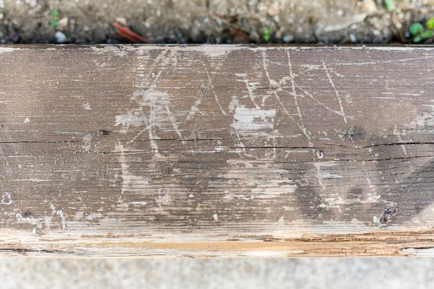 Surface En Bois Vieilli Avec Rayures Photo gratuit