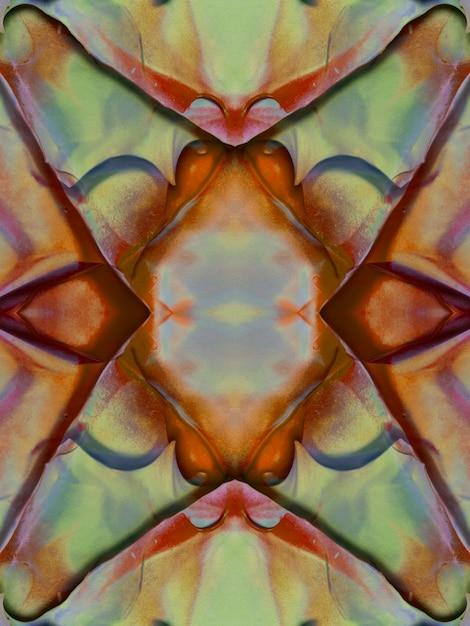 Surface de la conception florale créative aquarelle Photo gratuit
