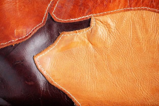 Surface de cuir Photo Premium