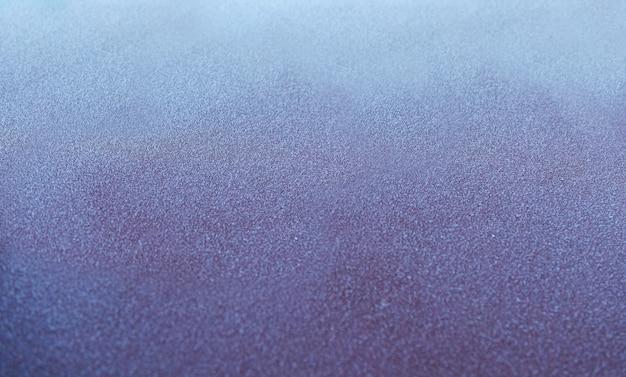 Surface Gelée De La Voiture Le Matin Photo Premium