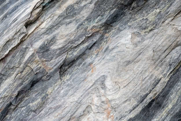 Surface grise en pierre de marbre rayée. Photo Premium