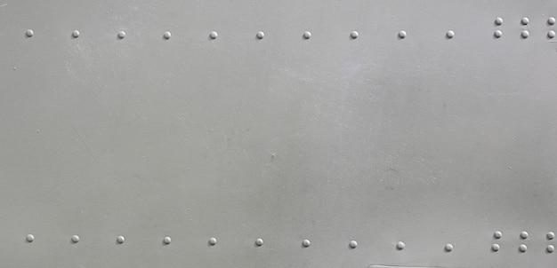 Surface métallique des avions militaires Photo Premium