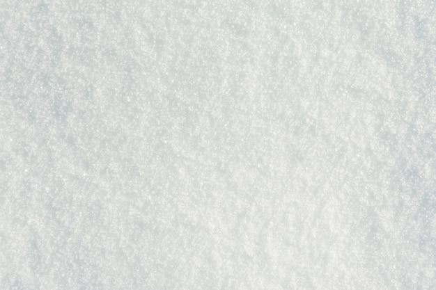 Surface De Neige D'un Blanc Pur Photo gratuit