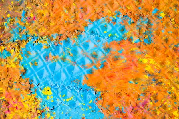 Surface peinte multicolore Photo gratuit