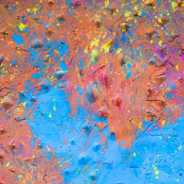 Surface de surface peinte multicolore Photo gratuit