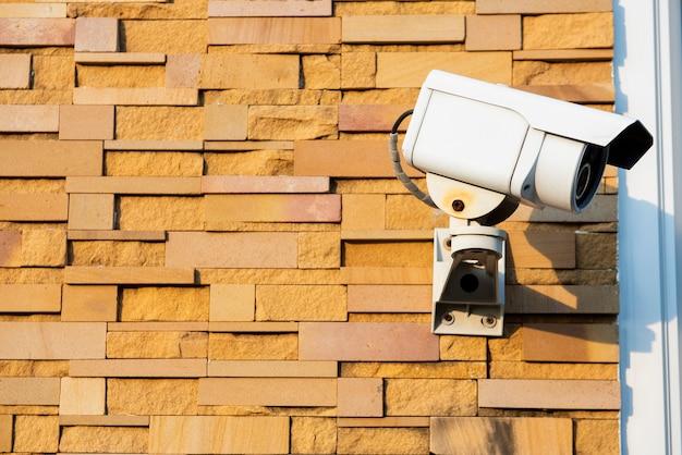 Système De Caméra De Sécurité Extérieure Photo Premium