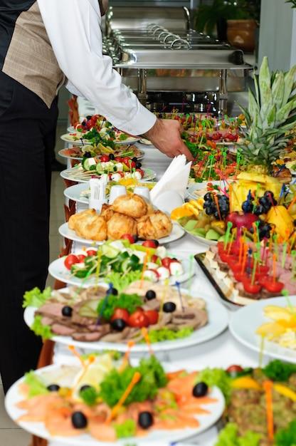 Table de banquet Photo Premium