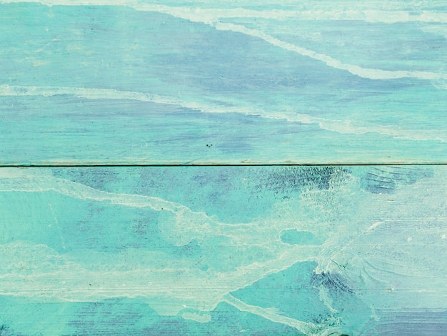 Table en bois bleu toile de fond texturée Photo gratuit
