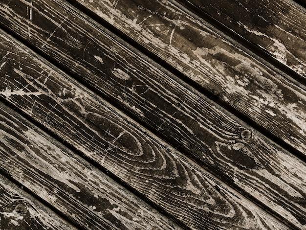 Table en bois patiné grunge texturé Photo gratuit