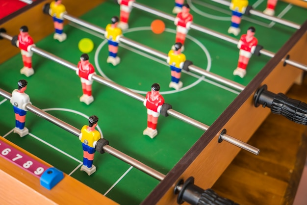Table football jeu Photo gratuit