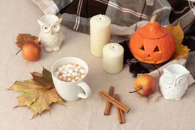Table d'halloween Photo Premium