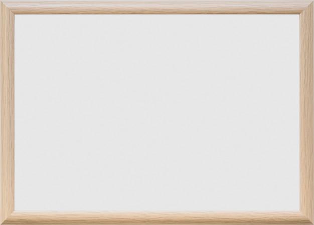Tableau blanc vierge sur fond uni Photo gratuit