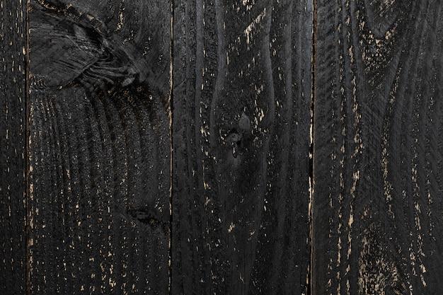Tableau en bois, tableau noir, surface de texture en bois Photo Premium