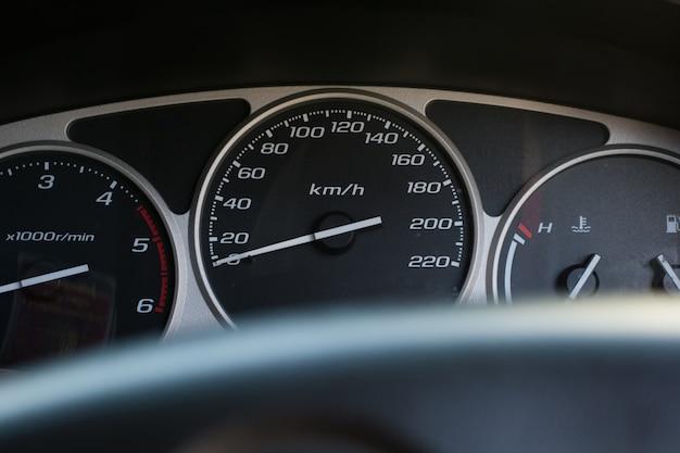 Tableau de bord de voiture moderne Photo Premium