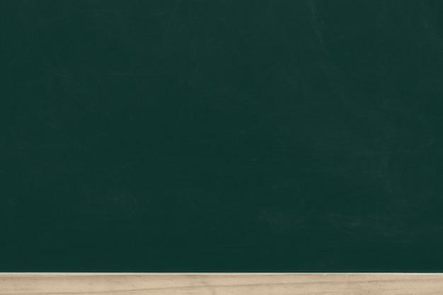 Tableau de craie verte avec cadre en bois Photo Premium