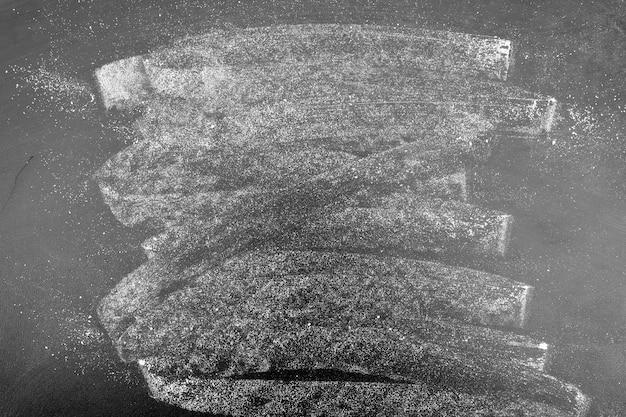 Tableau noir peint à la craie Photo gratuit