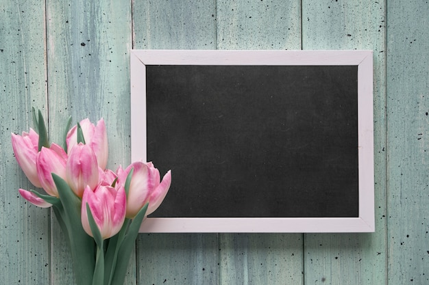 Tableau Noir Avec Texte