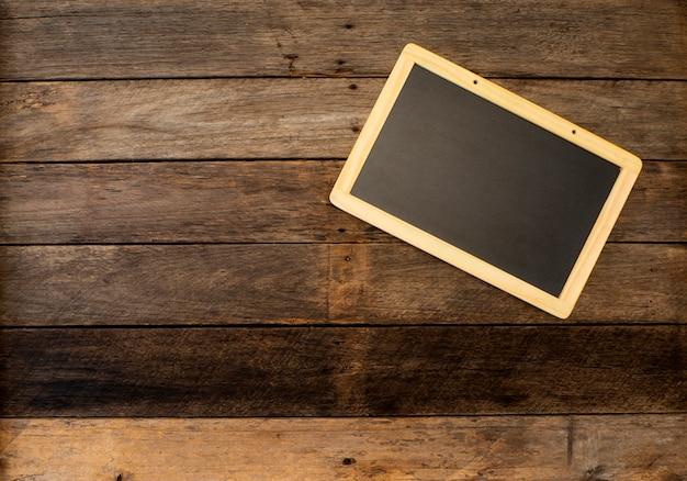 Tableau vide noir Photo Premium