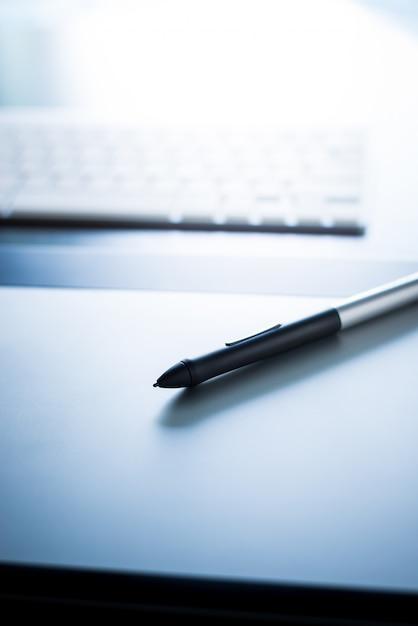 Tablette graphique avec stylo Photo Premium