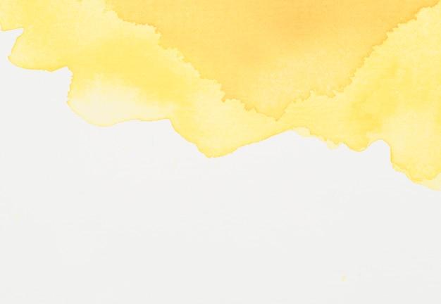 Tache de colorant jaune vif Photo gratuit