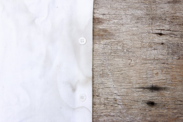 Tache sale sur le chiffon pour le nettoyage. Photo Premium