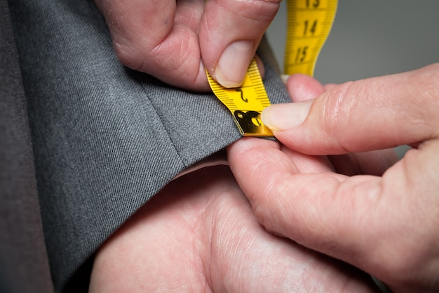 Tailleur mesure vetements Photo Premium