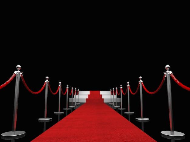 Tapis rouge exclusif Photo Premium