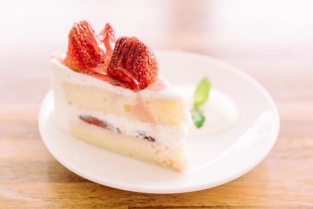 Tarte aux fraises Photo gratuit