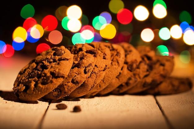 Tas de biscuits Photo gratuit