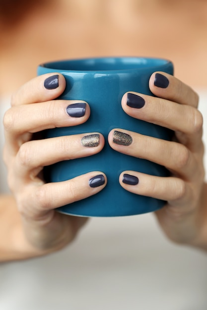 Tasse Bleue Photo gratuit