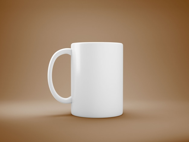 Tasse de café blanc Photo gratuit