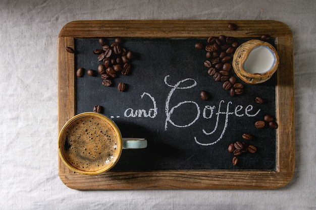 Tasse de café expresso Photo Premium