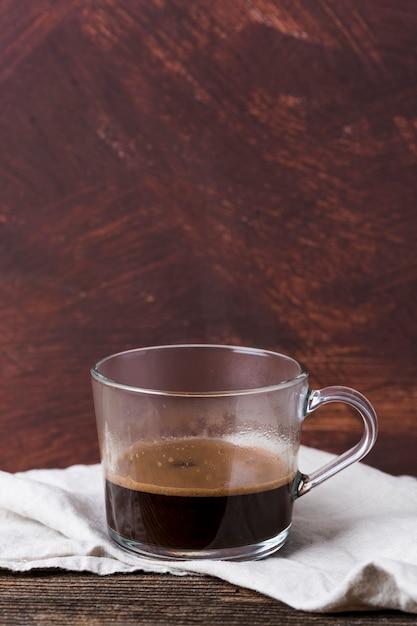 Tasse de café noir Photo gratuit