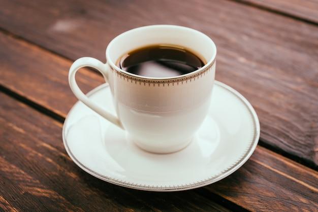 Tasse à café noire Photo gratuit