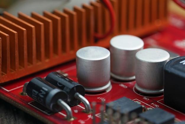 Technologie carte électronique Photo gratuit