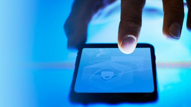 Technologie d'écran tactile Photo Premium