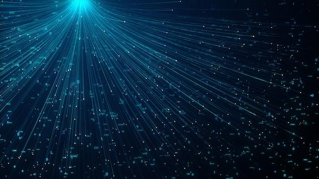 Technologie intelligence artificielle Photo Premium