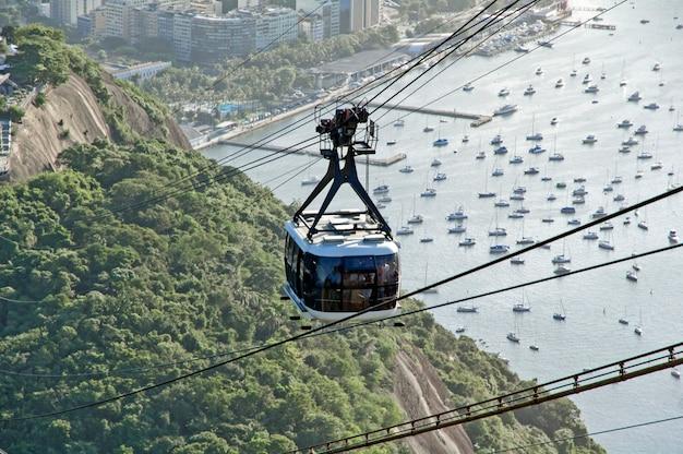 Téléphérique de rio Photo Premium