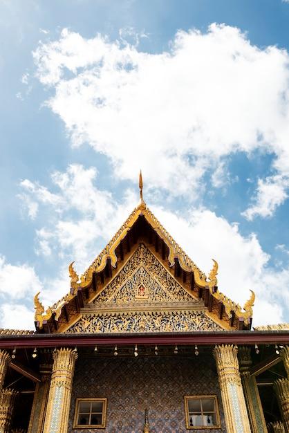 Temple à bangkok en thaïlande Photo gratuit
