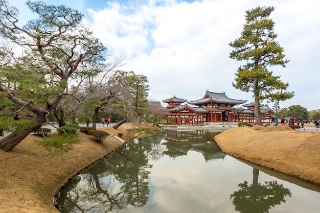 Temple de byodo-in Photo Premium