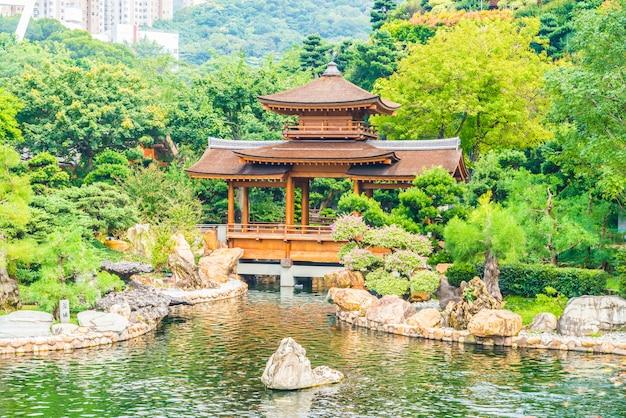 Temple chi lin dans le jardin nan lian Photo gratuit