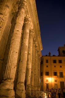 Temple d'hadrien, rome Photo gratuit
