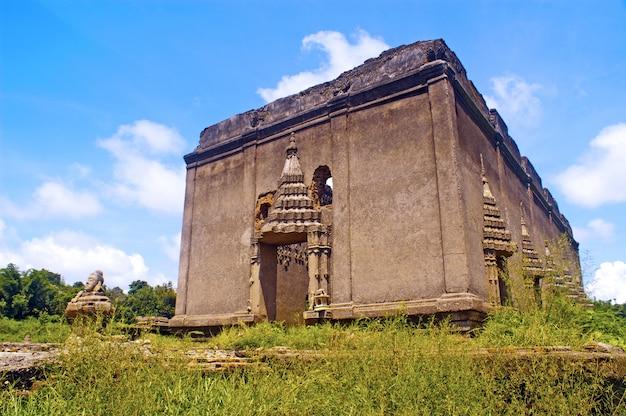 Temple sous-marin en thaïlande Photo Premium