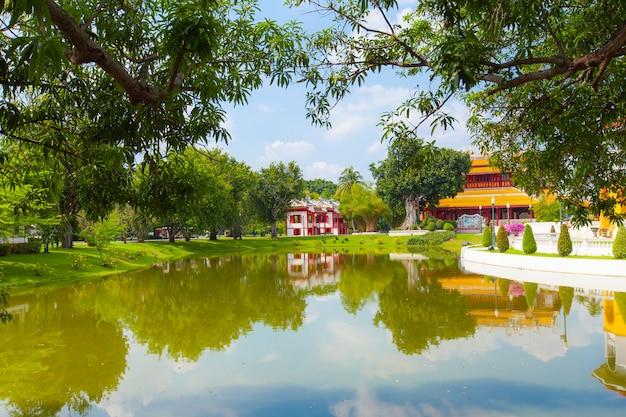 Temple de style chinois Photo Premium
