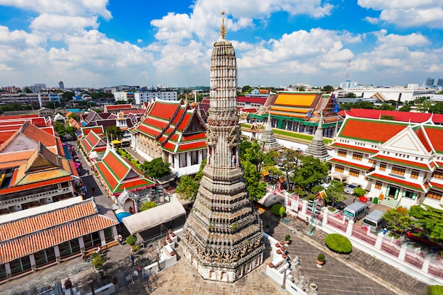 Temple wat arun Photo Premium