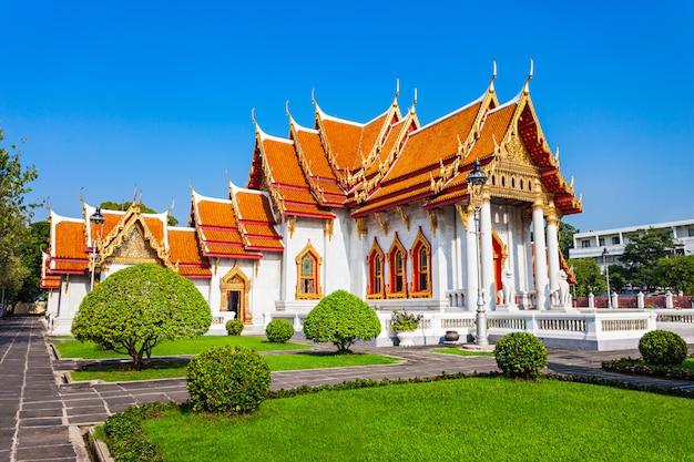 Temple wat benchamabophit Photo Premium