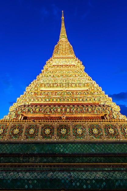 Temple wat pho Photo Premium