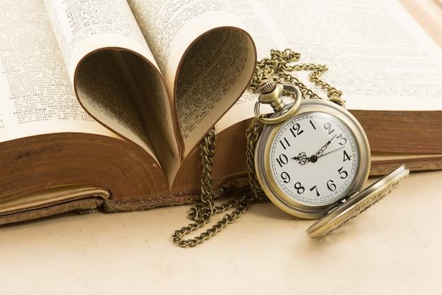Temps Et Amour Photo Premium