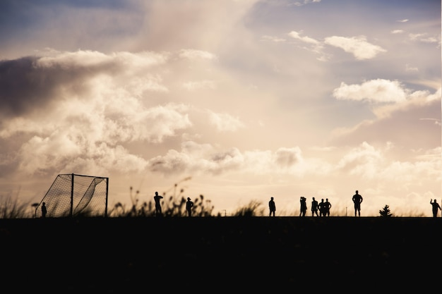 Temps De Football Photo gratuit